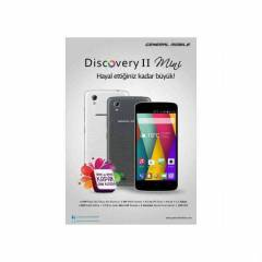 General Mobile Discovery 2 MİNİ - Çift Hatlı