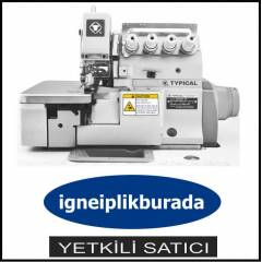 TYPICAL 4 İPLİK OVERLOK MAKİNASI (6500 DEVİR)