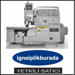 TYPICAL 3 İPLİK EŞARP KENARI OVERLOK 6500 DEVİR