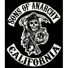 Büyük Boy Sırt Yama Sons Of Anarchy Patch  Rock