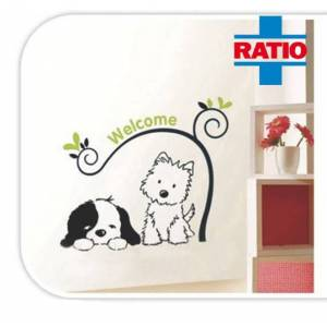 Ratio Doggy Duvar Sticker Modeli: T8145