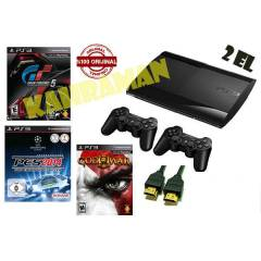 PS3 500 GB SLİM+2 KOL+OYUN
