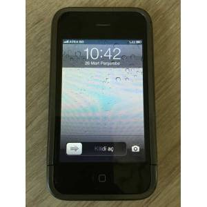 32 GB APPLE iphone 3GS BEYAZ + �NCASE KILIF
