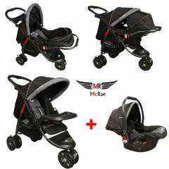 McRae MC-815 Travel Set 3 Tekerlek Bebek Arabası