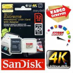 Sandisk Extreme 32Gb 60Mb/s Class10 MicroSDHC