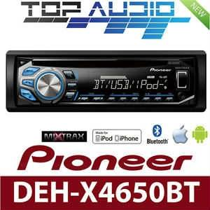 P�oneer DEH-X4650BT Bluetooth iPod Android Teyp
