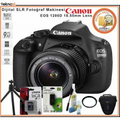 Canon EOS 1200D 18-55 Kit + Hediye Kit