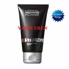 LOREAL HOMME Strong Jöle 150 ml