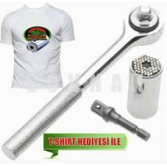 GATOR GRIP  3LÜ SET T-SHIRT HEDİYELİ