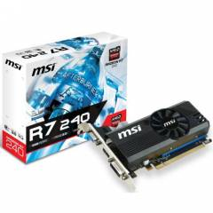 MSI R7 240 2GD3 LPV1 2GB 128Bit DDR3 DVI HDMI VG