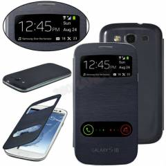 SAMSUNG S3 GALAXY KILIF Flip Cover S View MODEL