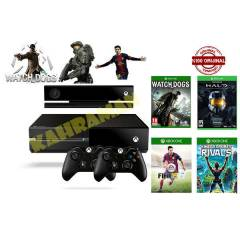 XBOX ONE + KINECT+ S.RIVALS+FİFA 15+HALO+W.DOGS