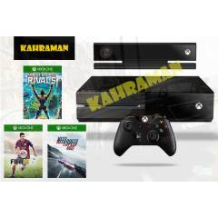XBOX ONE + KINECT + S RIVALS+NEED S.RİV.+FİFA15