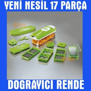Nicer Dicer Plus Yeni Nesil Pratik Do�ray�c� Set