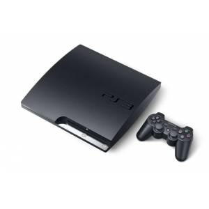 PS3 Slim 320GB + 2 kol + 2 Oyun