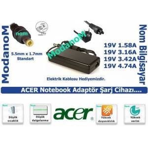 Acer 5742G-7200 LAPTOP ADAPT�R �ARJ ALET�