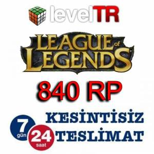 League Of Legends LOL 840 RP T�rkiye Riot Pin