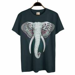 Root And Stone Elephant Fil Erkek Ti��rt T-shirt