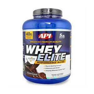 API Whey Elite Protein (Chocolate) 2270Gr+HED�YE