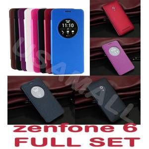 Asus Zenfone 6 K�l�f  Flip Cover Full Set