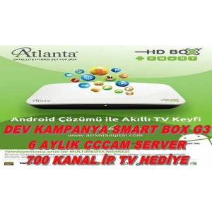 ATLANTA HD BOX SMART HD UYDU+W�F�+AKILLI KUMANDA