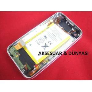 IPHONE 3G 8GB SİYAH ARKA KASA KAPAK FULL