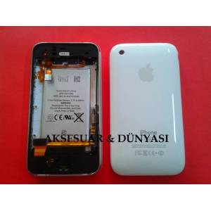 APPLE IPHONE 3gs 8GB BEYAZ ARKA KASA KAPAK FUL