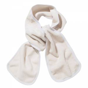 Teddy Bear Scarf Atk� ONE BEYAZ