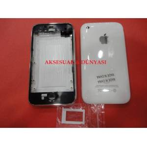IPHONE 3GS 32GB BEYAZ KASA KAPAK CERCEVELİ + SİM