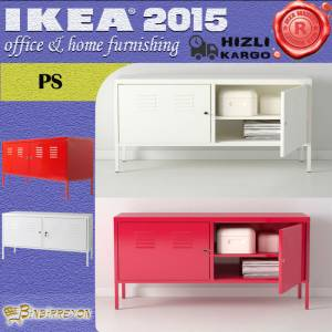IKEA PS TV Sehpas� Metal Dolap 119x40 2 Renk