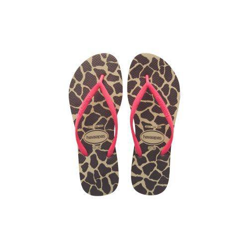 Havaianas Slim Animals Fluo Terlik Sand Grey