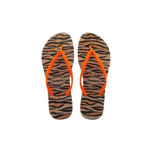 Havaianas Slim Animals Fluo Terlik Rose Gold