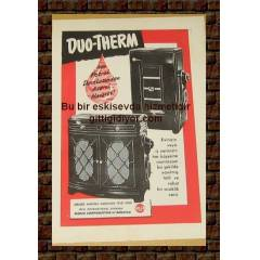 DUO THERM SOBA REKLAMI 1952