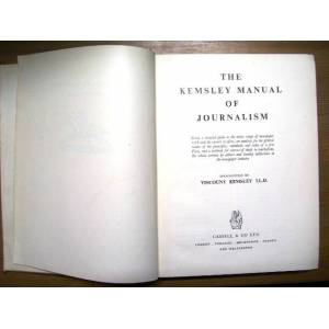 =The Kemsley Manual Of Journal�sm �ngilizce=K94