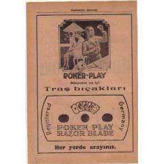 POKER-PLAY TRA� BI�AKLARI-J�LET-1937