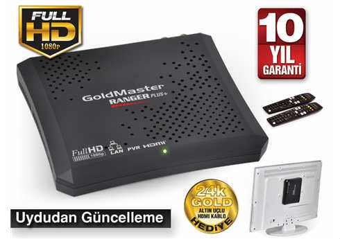 GOLDMASTER RANGER HD PLUS PVR UYDU ALICISI