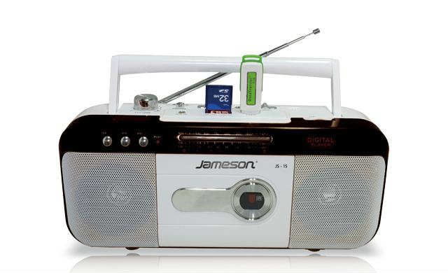 JAMESON JS-15 MİNİ MP3-USD-SD-RADYO