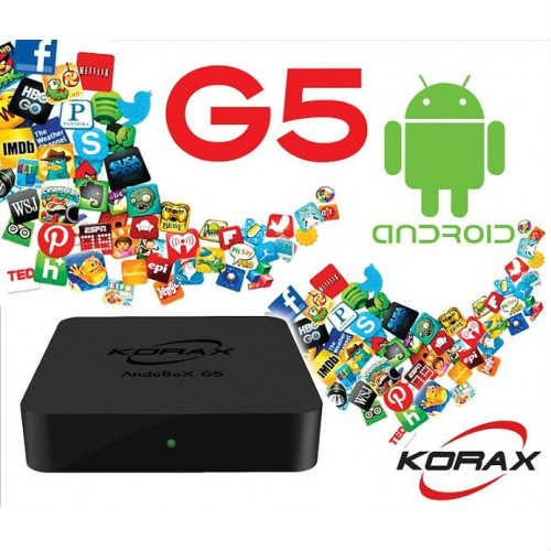 KORAX G5 ANDROİD SMART HYBRİD FULL HD UYDU ALICI