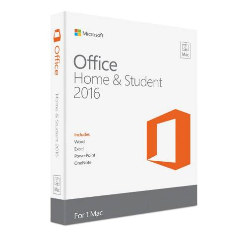 MICROSOFT MS OFFICE MAC HOME  STUDENT 2016 ENG
