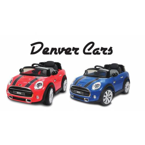DENVER CAR MINI COOPER 12VKUMANDALI AKÜLÜ ARABA
