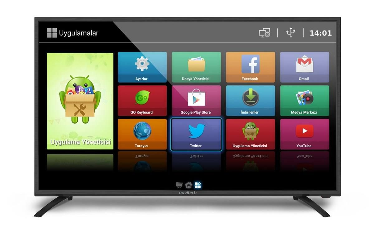 NAVİTECH LDS-3255HD HD READY SMART LED TV 82 EKR
