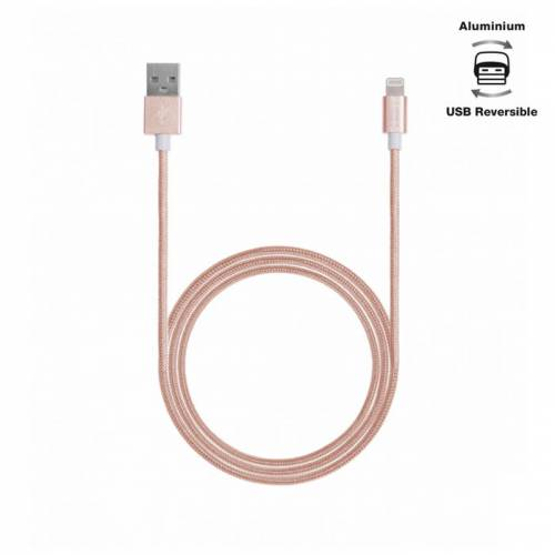 Aiino - Apple Lightning Kablo Rose Gold