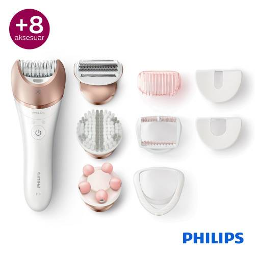 Philips Satinelle Advanced BRE650/00 Prestige Islak ve Kuru Epilatör