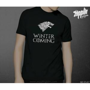 Game of Thrones Winter is Coming White Tshirt