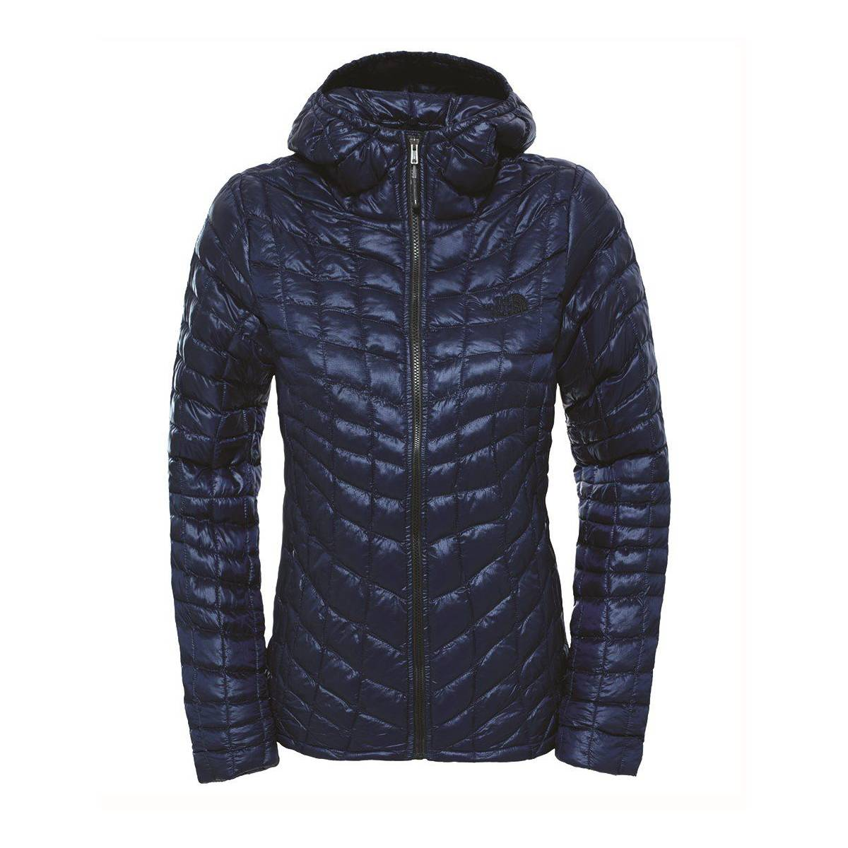 the north face - w thermoball hoodie - eu bayan mont fw17 mavi 258116893
