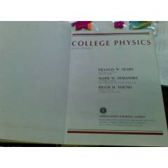 COLLEGE PHYSICS FRANCIS W. SEARS .... 1985
