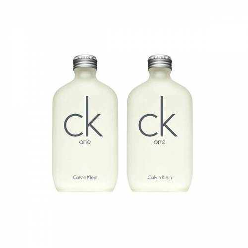 CALVIN KLEIN CK ONE EDT 200 ML + 200 ML ikili set