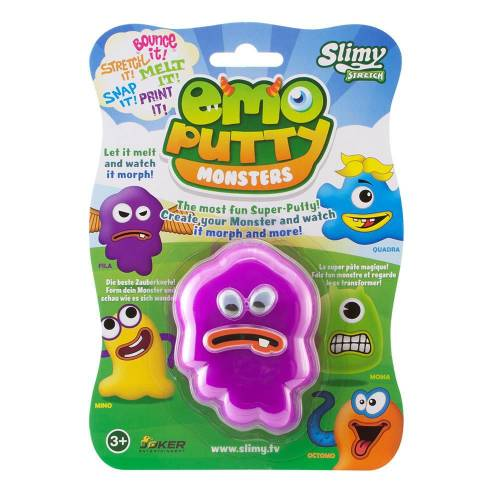 Slimy Slime Çılgın Vıcıklar Emoputty Monsters Fila