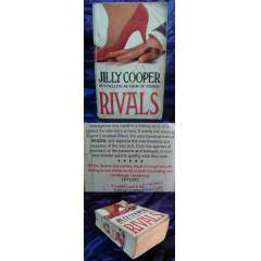 RIVALS by JILLY COOPER-CORGI BOOKS 1989 msc