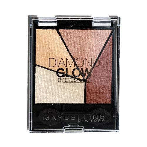 Maybelline New York Diamond Glow Quad Göz Farı Coral Drama 02